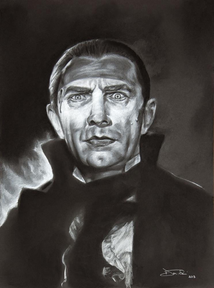 Bela Lugosi by fruksion
